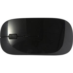 Vezeték nélküli optikai egér, fekete